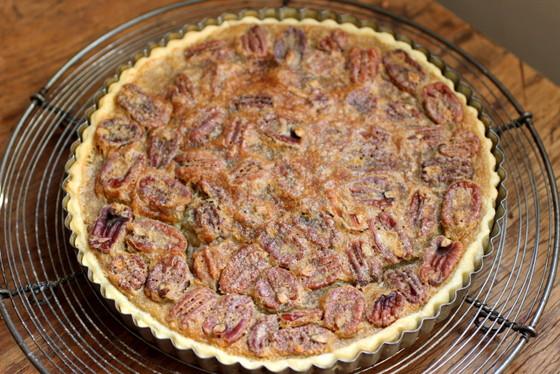 Bourbon Brown Butter Pecan Pie - Vintage Kitchen
