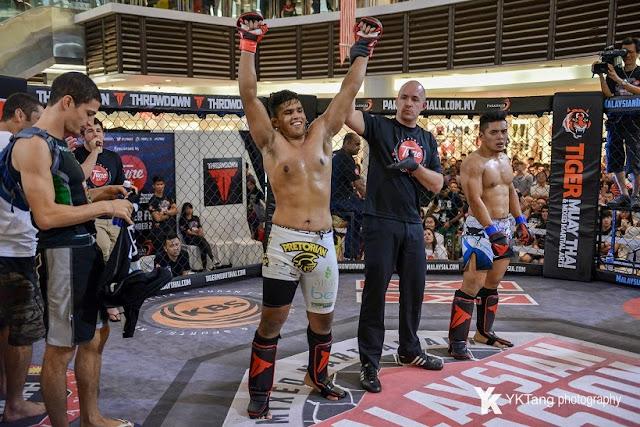 Agilan vs Fakhrul MIMMA2 Contender Fights 2014