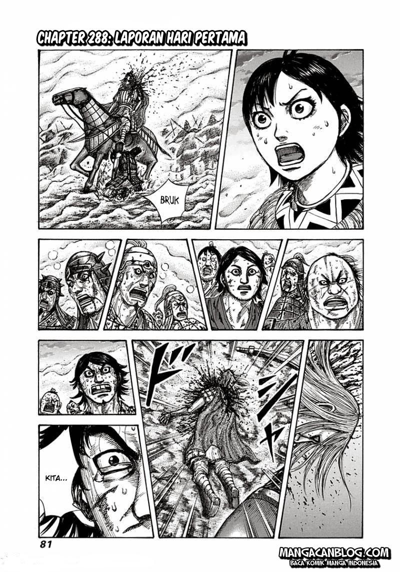Dilarang COPAS - situs resmi www.mangacanblog.com - Komik kingdom 288 - laporan hari pertama 289 Indonesia kingdom 288 - laporan hari pertama Terbaru |Baca Manga Komik Indonesia|Mangacan