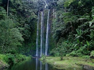 Air Terjun Lematang, wisata palembang, backpacker