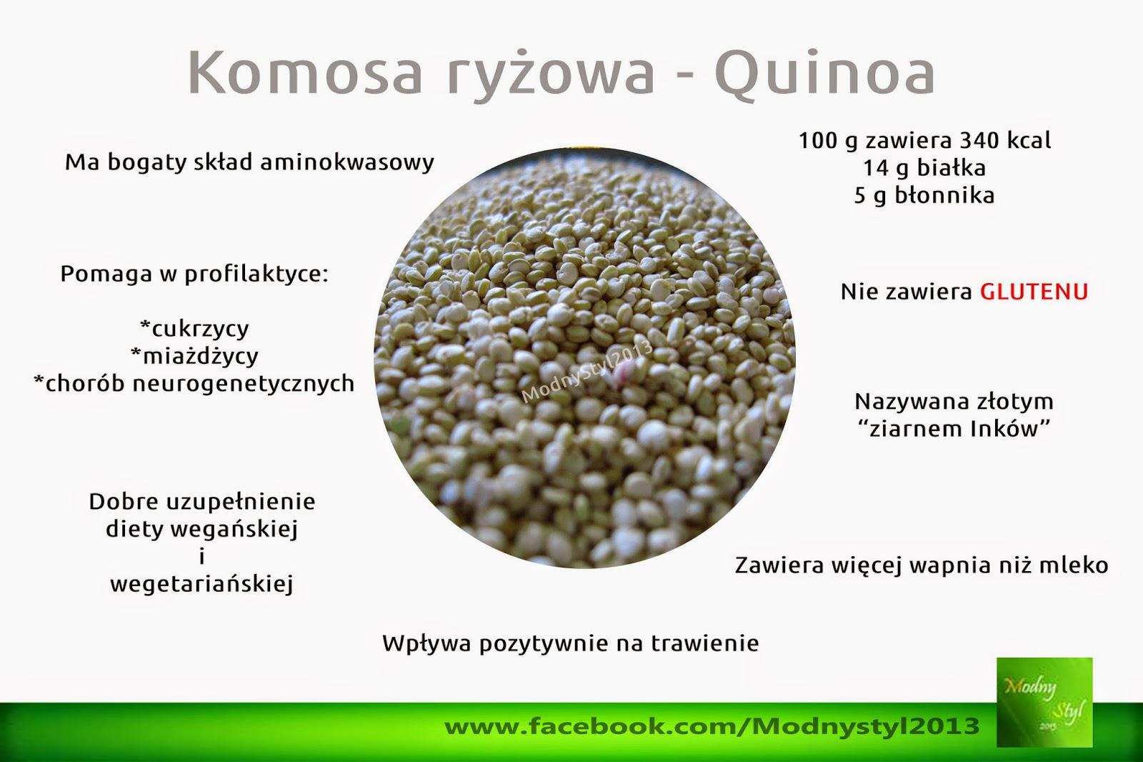Quinoa, czyli komosa ryżowa