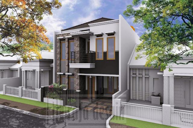 Desain Rumah Art Deco
