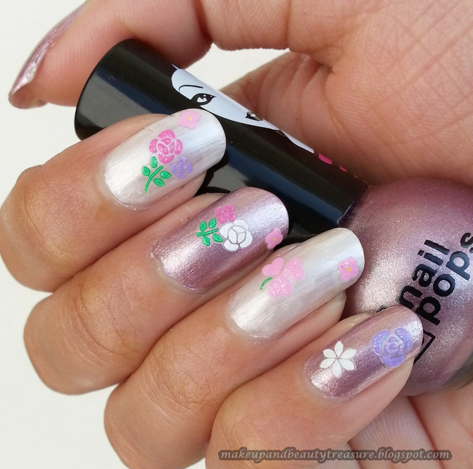 3d Nail Art Flowers Joby 3d nail art stickers