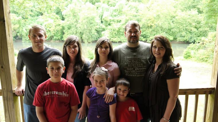 The whole Halverson family