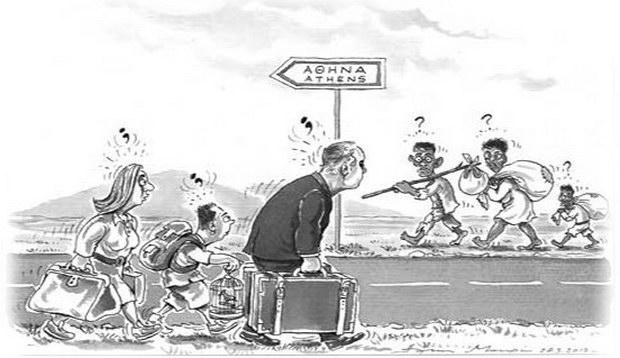 Λαθρομετανάστευση: Ουμανισμός, ιδεοληψία, ανικανότητα και τα αμύθητα κέρδη των δουλεμπόρων