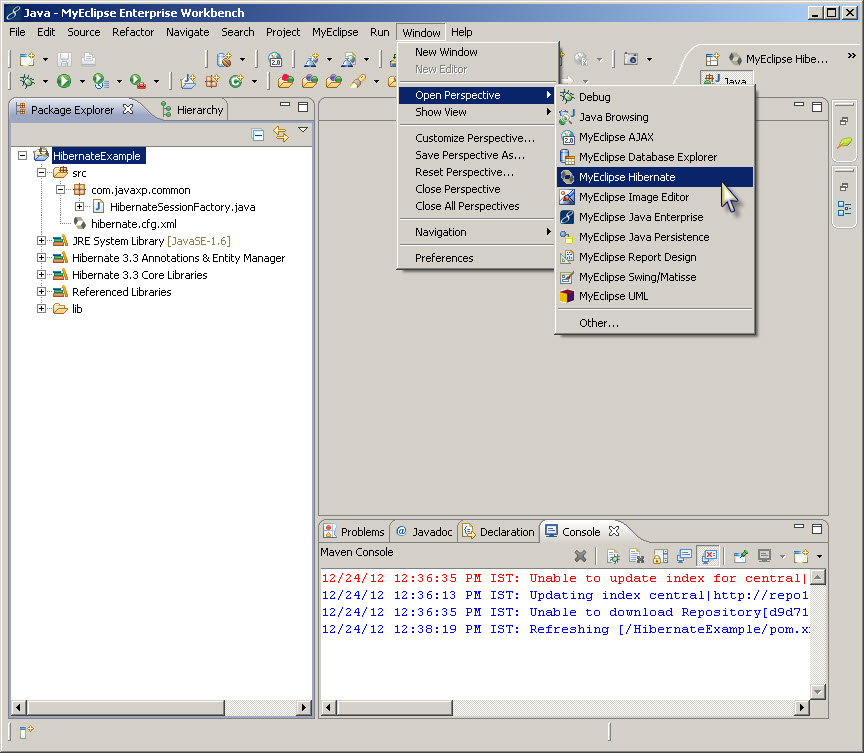 how to create class in ea using reverse enginerring