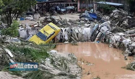 Banjir lumpur di Cameron Highlands : Apa puncanya?