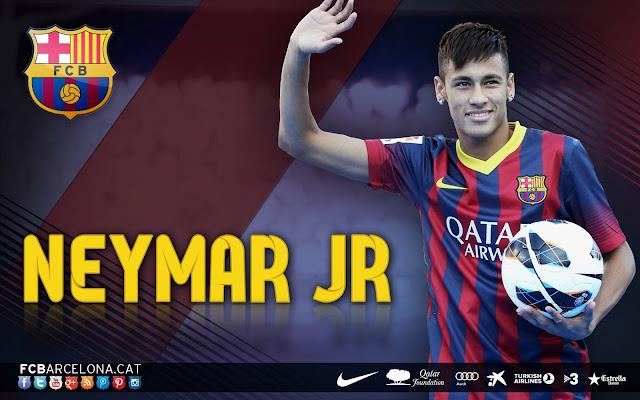 HD Wallpapers neymar  barcelona 2013 2014