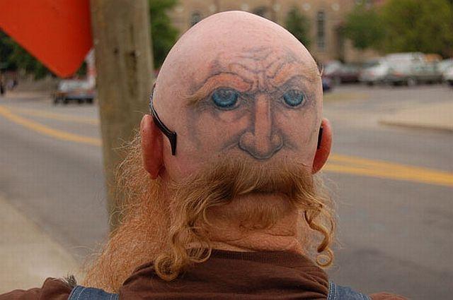 tattoos on head. tattoos on head. Head tattoos