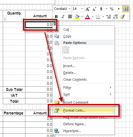 Microsoft excel hide zero value in specific cell ccuart Image collections