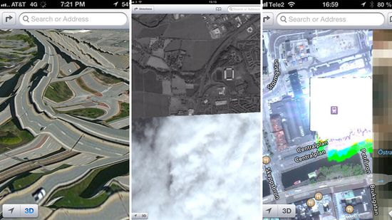 5 Produk Teknologi Paling Mengecewakan Tahun 2012: Apple Maps