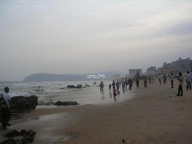 rave party in vizag beach