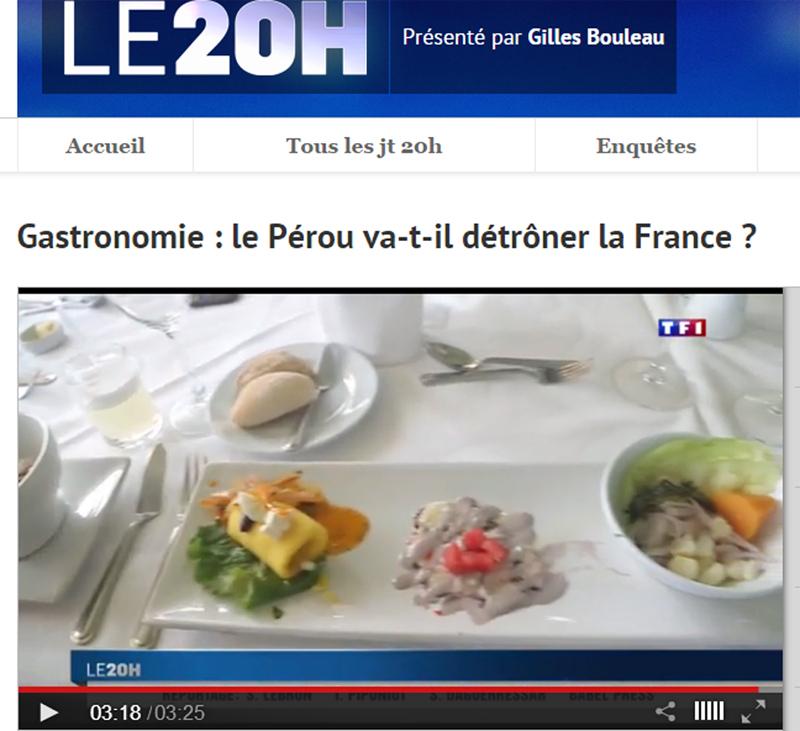 Leeydile gastronom a el per va a destronar a francia for Comida francesa en lima