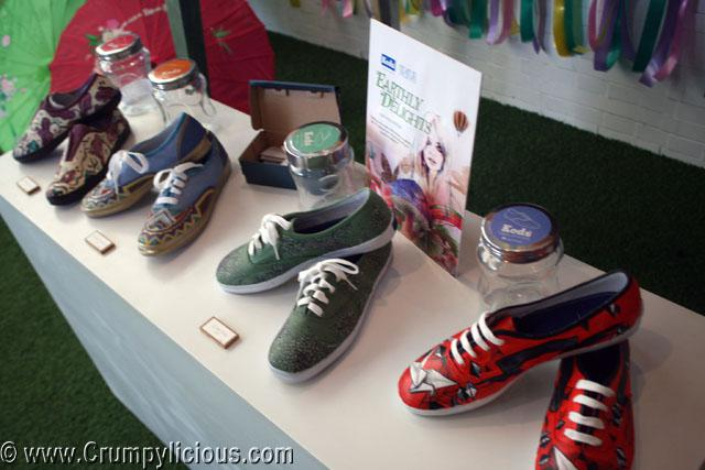 keds auctioned Status Earthly Delights Party