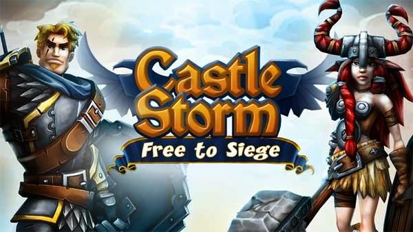 CastleStorm, construir su castillo y luchar contra el enemigo en este juego