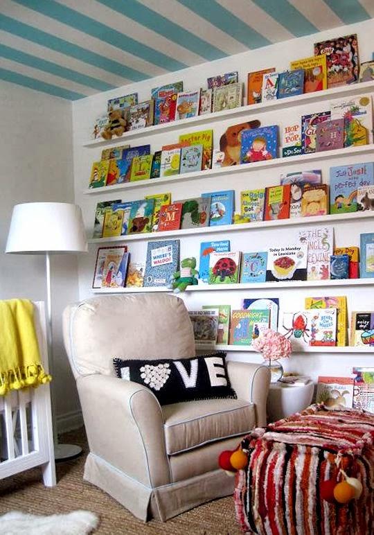 Rincón de lectura para niños9