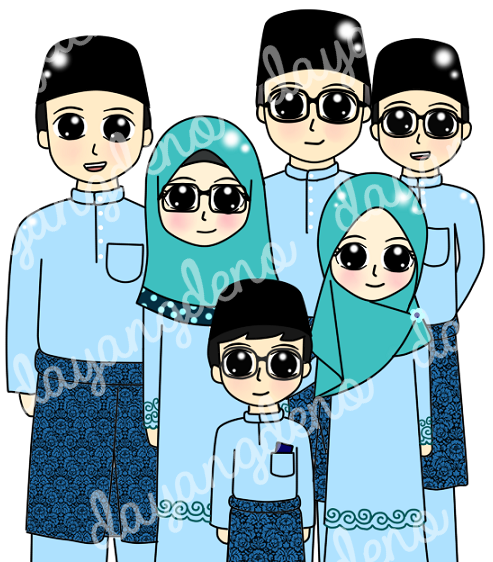 Tempahan : Doodle Family