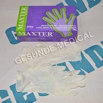 beli sarung tangan medis latex gloves
