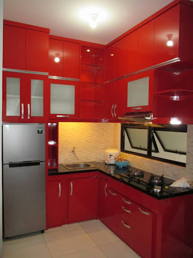 Kitchen set mas Arif at Lanata 2 Residance jl aselih jagakarsa