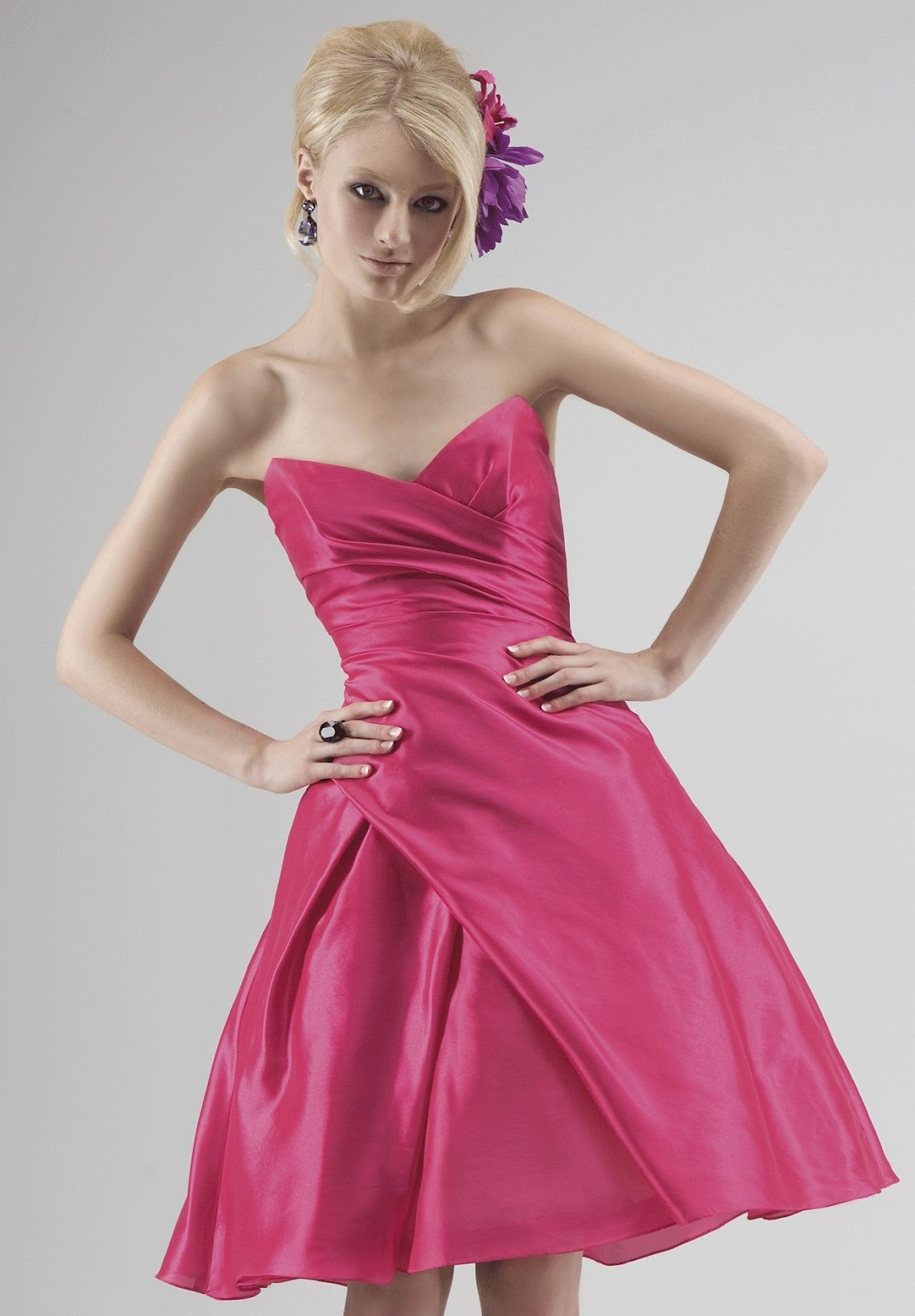 ball gown bridesmaid dress