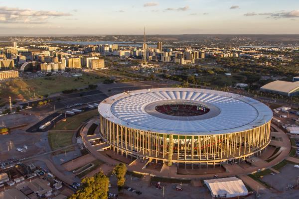 Brasil e Japão fazer a abertura da Copa das Confederações, em Brasília