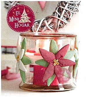 El minihogar - Velas decoradas para navidad ...