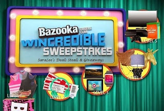 Enter the Bazooka Bubble Gum Giveaway. Ends 8/2.