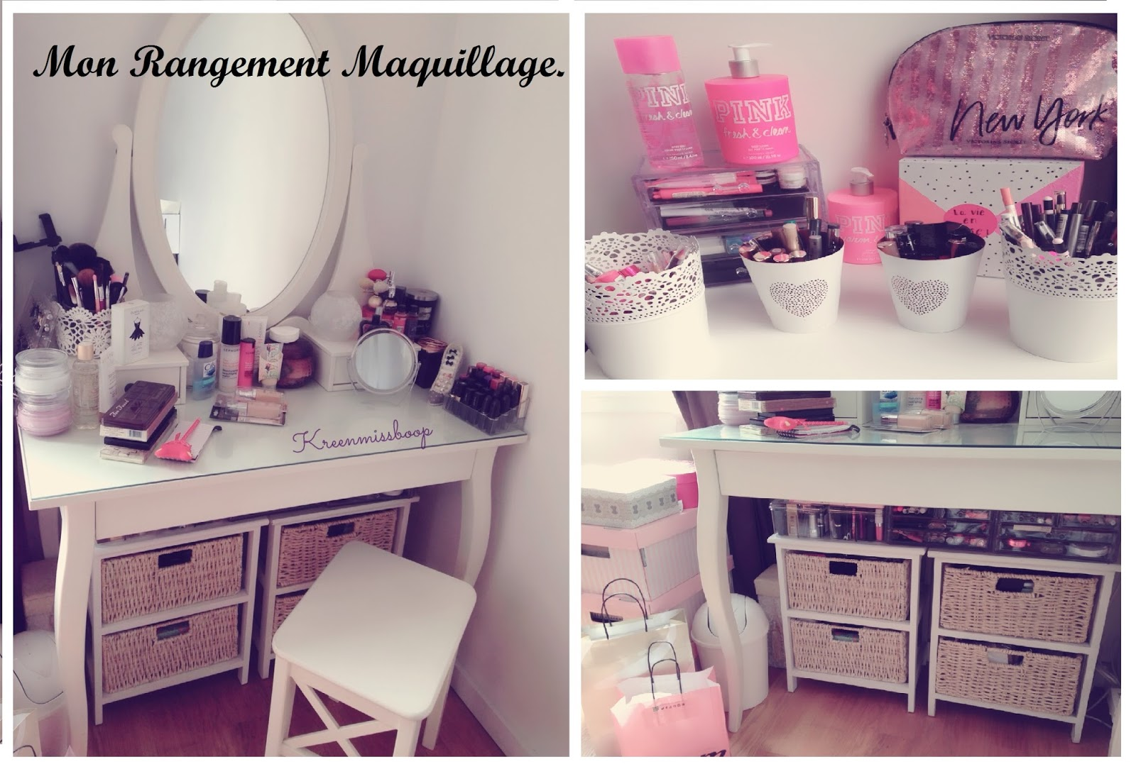 beauty blog plus size mon rangement maquillage juillet 2015 make up storage. Black Bedroom Furniture Sets. Home Design Ideas