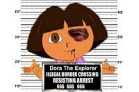 dora exploradora detenida