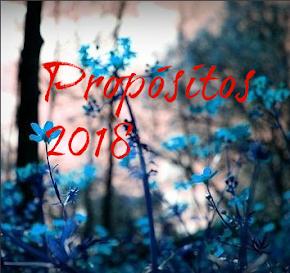 ¡Mis propósitos 2018!