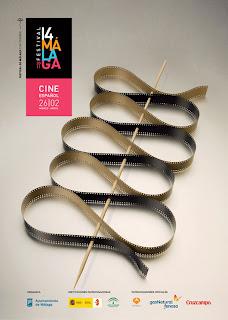 Cartel oficial del Festival de Cine de Málaga