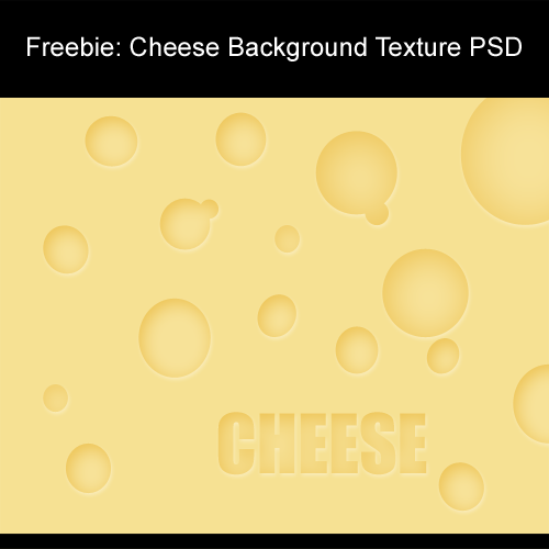 Freebie: Cheese Background Texture PSD