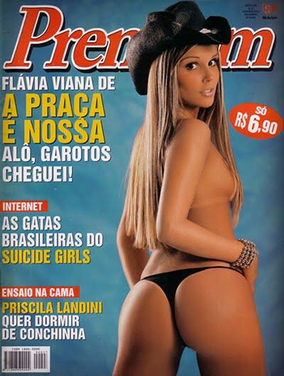 Flávia Viana pelada