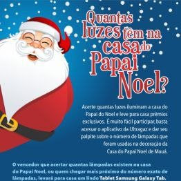 Promoção de Natal Ultragaz