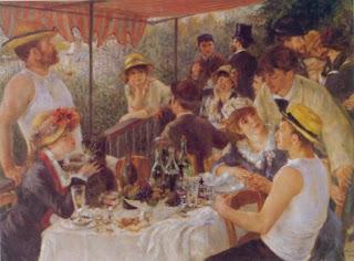 Le Déjeuner des Canotiers by Pierre-Auguste Renoir