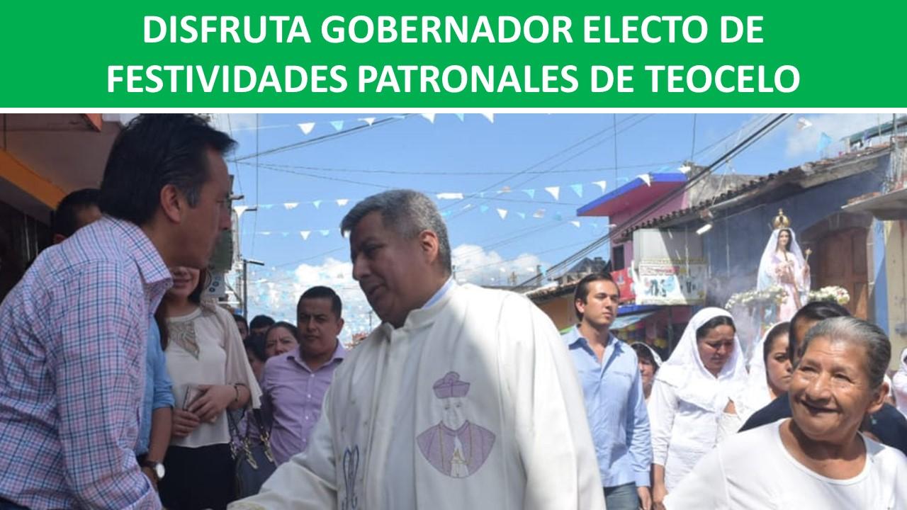 FESTIVIDADES PATRONALES DE TEOCELO