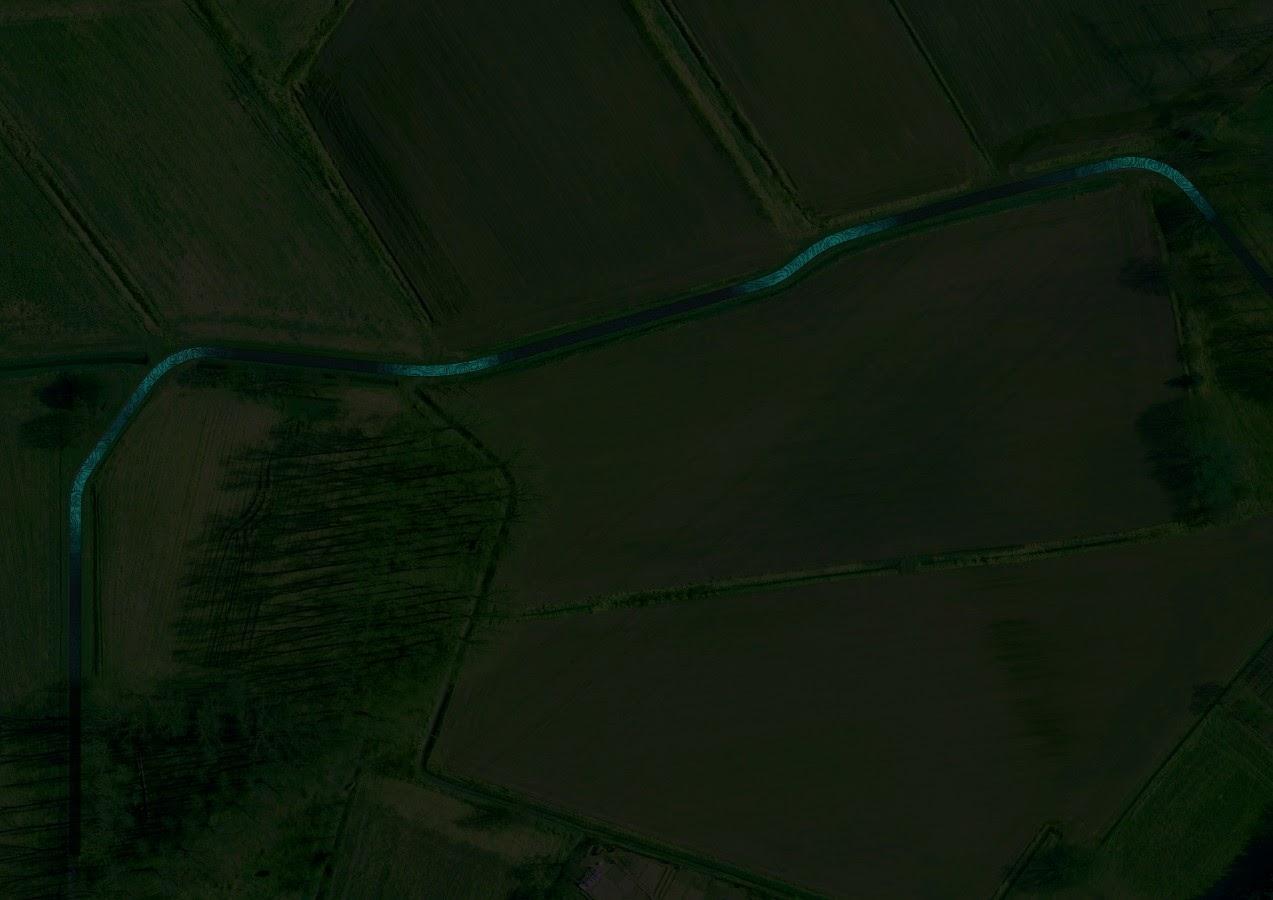 Van Gogh Path, por Daan Roosegaarde