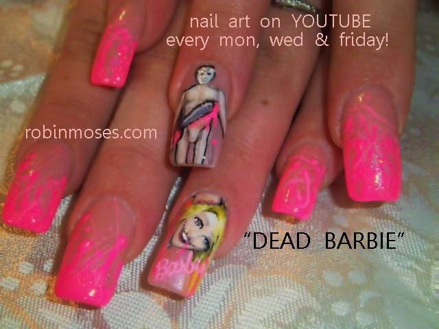 Robin moses nail art halloween ideas halloween designs nail chevron nail art for halloween prinsesfo Gallery