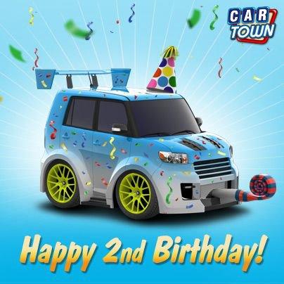 Car Town: ¡Feliz Cumpleaños Car Town!