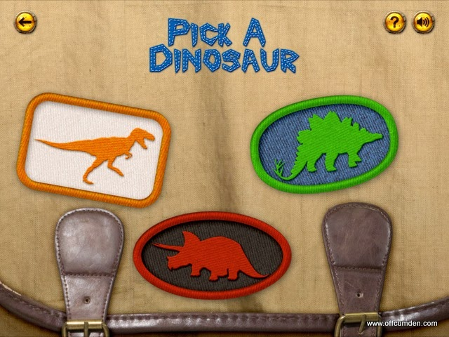 Pick a dinosaur