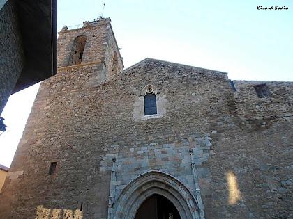 Façana de ponent, gòtica, de Sant Esteve de Bagà. Autor: Ricard Badia