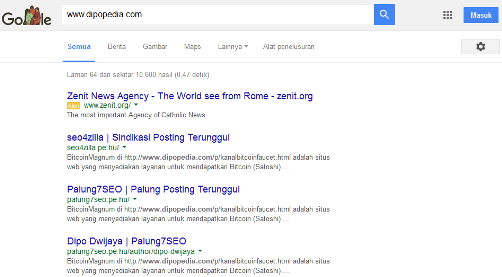 Ilustrasi Trik Memaksa Google Menampilkan Laman Hasil Penelusuran Paling Akhir - Dipopedia