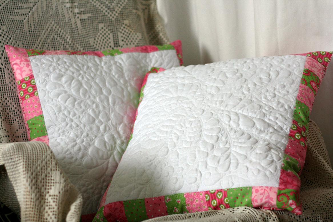 Стёганные подушки своими руками 78