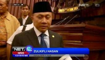 Cerita di Balik Terpilihnya Zulkifli Hasan Sebagai Ketua MPR