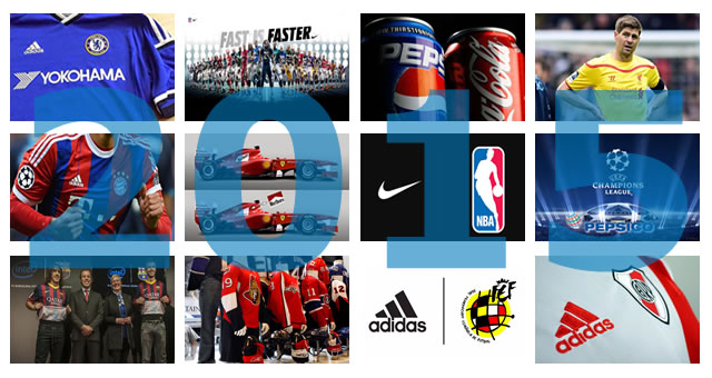 12 acuerdos de sponsorización que han marcado 2015