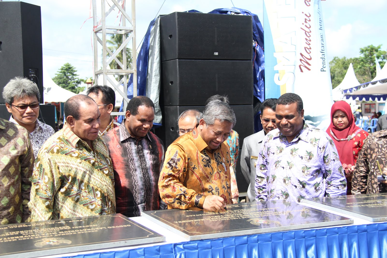 Peresmian Kampus II UNIPA Sorong (Fakultas Kedokteran &  Fakultas Pertambangan & MIGAS