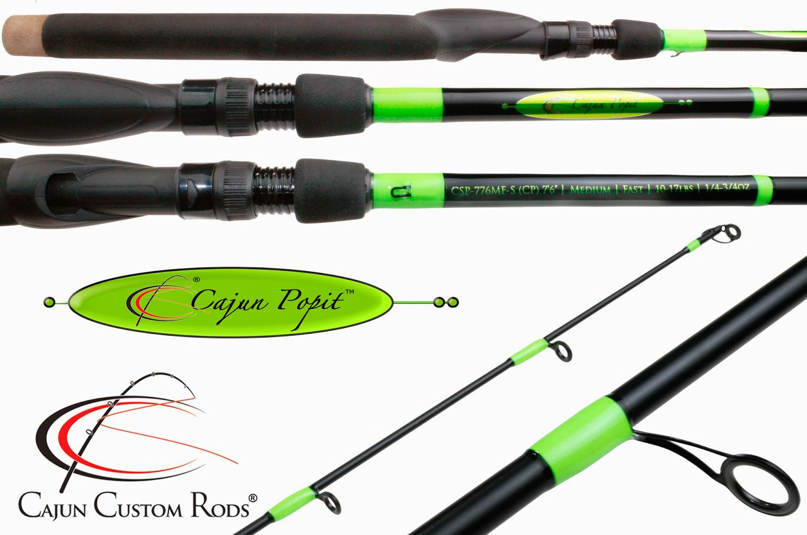 Cajun Custom Rods: Cajun Popit™