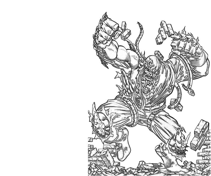 doomslayer versus lowland seed two face coloring pages doomsday drawings - Two Face Coloring Pages