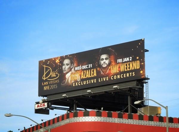 Drais Las Vegas NYE 2015 billboard