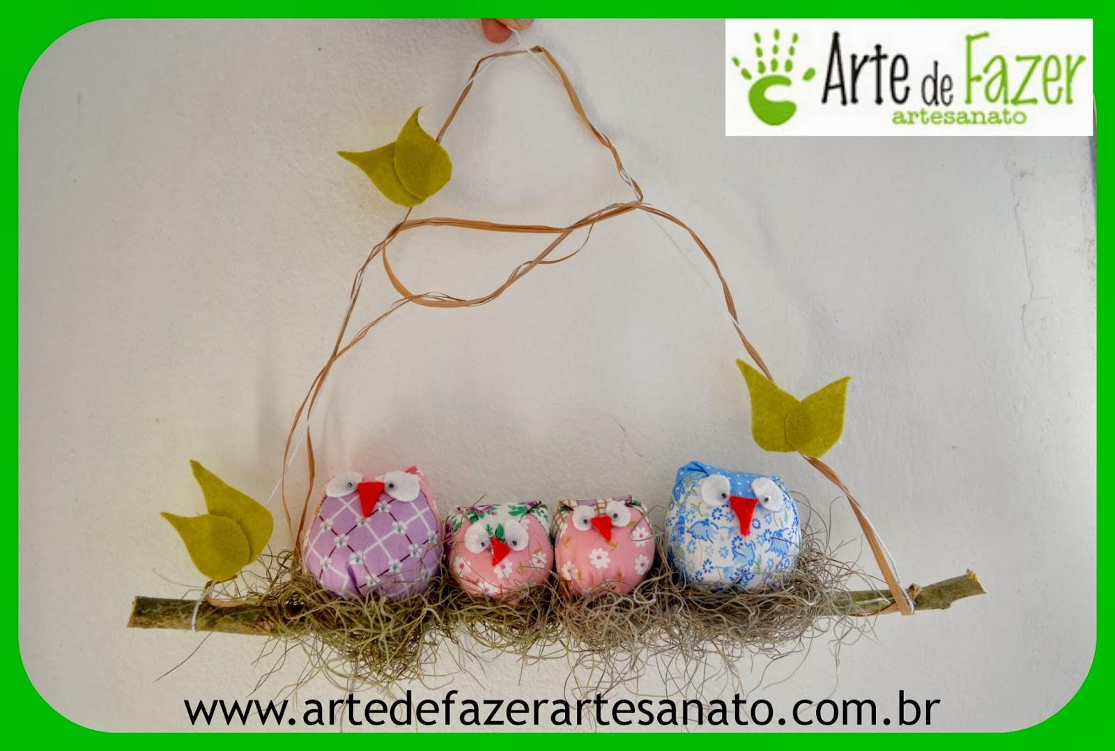 Móbile de coruja - decoração